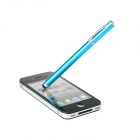 Universal 2 in 1 Stylus Touch Ballpoint Pen for IPHONE, IPAD 2, IPOD - Blue
