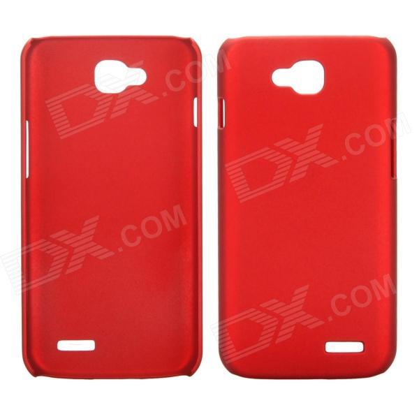 все цены на EPGATE A00487 Rubberized Matte Snap-On Glossy Slim Case for LG Optimus L90 D410 D405 - Red онлайн