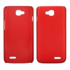 EPGATE A00487 Rubberized Matte Snap-On Glossy Slim Case for LG Optimus L90 D410 D405 - Red