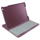 Wireless Bluetooth V3.0 82-Key Keyboard w/ Stand for IPAD AIR - Red