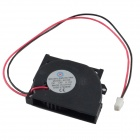 AV-0.1A 2-Pin HDD 35-Blade Cooling Fan - Black + Red (12V / 40 x 10mm)
