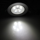 HESION HS02005C 5W 450lm 6500K 5-LED White Ceiling Light / Spotlight (85~265V)