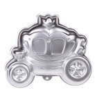YF3403 Princess Car Aluminum Cartoon Model DIY Baking Cake Mold - Silver
