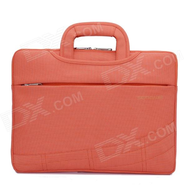 SENDIWEI S-314W Multifunctional Ultra-thin Fashionable Handbag for 15 Notebook Laptop - Orange Red 720566 501 720566 001 for hp envy 15 notebook 15t j100 notebook laptop motherboard for quad touchsmart 15 15t hm87 systemboard