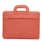 "SENDIWEI S-314W Multifunctional Ultra-thin Fashionable Handbag for 15"" Notebook Laptop - Orange Red"