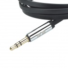 UGREEN 10729 3.5mm macho a 3.5mm Macho (L Shape) Stereo Flat Cable Audio Deluxe - Negro (500cm)