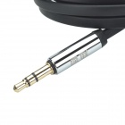 UGREEN 10599 3.5mm macho a 3.5mm Macho (L Shape) Stereo Flat Cable Audio Deluxe - Negro (200cm)