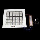 KINFIRE Anti-deslumbrante 25W 1800lm 3500K LED Warm Lámpara de techo blanco w / conductor (AC 85 ~ 265V)