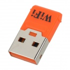 S-Was Tragbare Mini-USB 2.0 150Mbps Wireless-Powered Wi-Fi Access Point - Orange