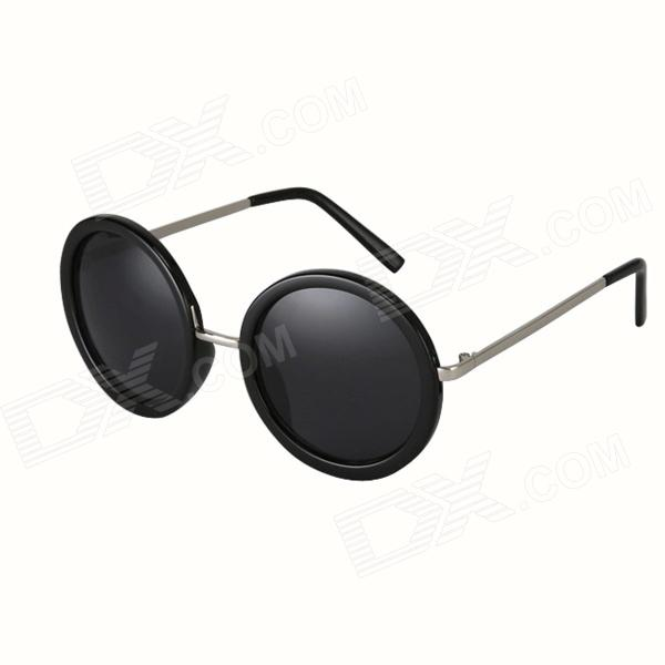 Reedoon 1302 Fashion Resin Lens Ladies'  Sunglasses - Black