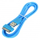 MFi D&S DSM1117 Apple 30-Pin to USB Charging & Data Cable for iPhone / iPad / iPod - Blue (150cm)
