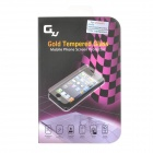 GXS G12 Protective 0.3mm Tempered Glass Screen Guard Protector for IPHONE 4 / 4S - Glossy