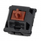 CHERRY 3-Feet Switch Brown-Shaft for Mechanical Keyboard - Black + Chocolate