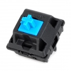 CHERRY 5-Feet Switch Green-Shaft for Mechanical keyboard - Black + Light Blue
