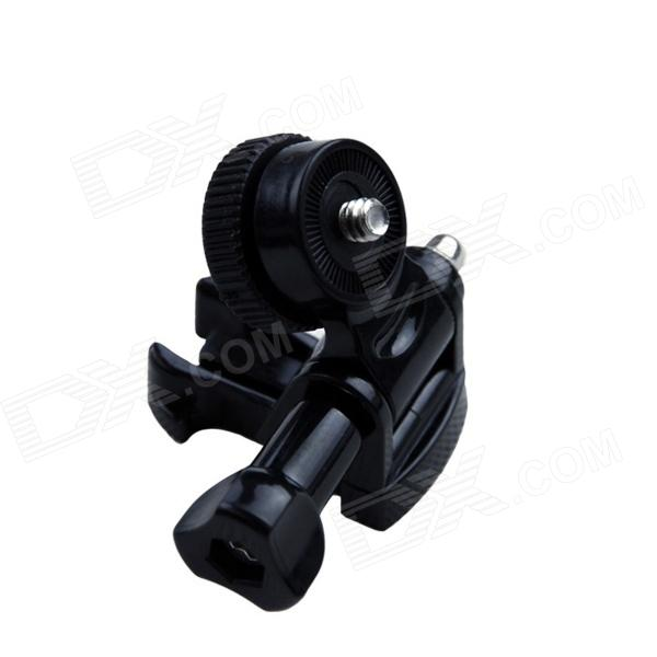 Triangular Screw Rotating Adapter for GoPro Hero - Black