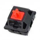 CHERRY 3-Feet Switch Red-Shaft for Mechanical Keyboard - Black + Red