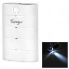 Gaoge V02 Universal 5800mAh Rechargeable Li-ion Power Bank for Cellphone / Tablet PC + More - White