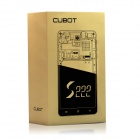 "CUBOT S222 MTK6582 Quad-core Android 4.4.2 WCDMA Bar Phone w / 5,5 ""OGS HD, Wi-Fi et GPS - Blanc"
