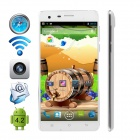"CUBOT S222 MTK6582 Quad-core Android 4.4.2 WCDMA Bar Phone w/ 5.5"" OGS HD, Wi-Fi and GPS - White"
