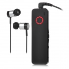 DON SKORPION DH-h1 Clip-on Smart-Bluetooth V4.0 Wired Hallo-Fi-Musik-Stereo-Headset w / Mic - Schwarz + Rot