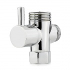 4/6 Brass Shower Shunt Valve - Silver