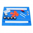 DIY Anfibio orca Educational Kit Asamblea Toy - azul + blanco