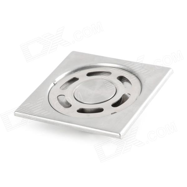 Convenient Stainless Steel Floor Drain - Silver