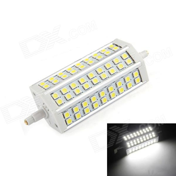 R7S 12W 54-SMD 5050 LED 900lm 6500K White Light LED Corn Bulb (85~265V) r7s 15w 5050 smd led white light spotlight project lamp ac 85 265v