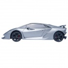 Lamborghini 1:18 2-CH Sixth Element Remote Control Car - Silver + Grey