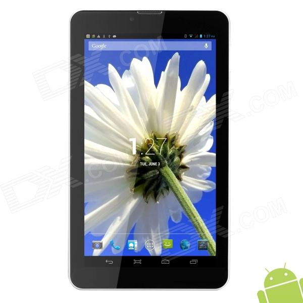 "AOSON M701TG 7 ""Android 4.2 Dual-core 3G Tablet PC w / Wi-Fi / GPS / FM / Bluetooth - Blanc + Noir"