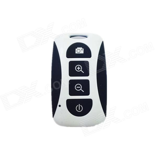 Bluetooth Remote Control Self Timer Camera Shutter for iOS / Android Phone - White