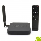 MINIX NEO X8-H Quad-Core Android 4.4.2 Google TV Player w / 2 GB RAM, 16 GB ROM + M1 Air Mouse - Schwarz