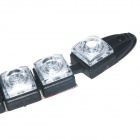 8W 135lm 6500K 12-LED White Light Car  Daytime Running Lamp (2 PCS / 12V)