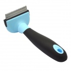 Dele Metal Blade Short Tiny Hair Shedding Grooming Comb Brush