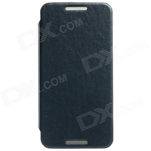 KALAIDENG Protective PU Leather Case for HTC Desire 610 - Black