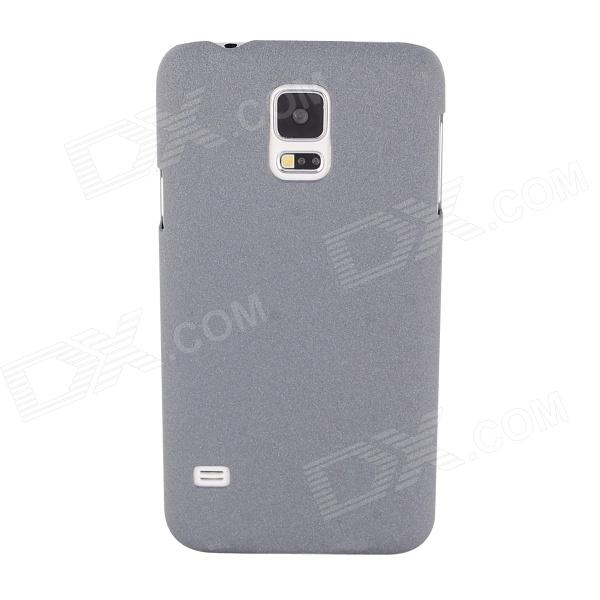 Elonbo J78D Matte Protective Plastic Hard Back Case for Samsung Galaxy S5 - Gray