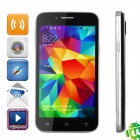 "H500W Android 4.2.2 WCDMA Dual-core Bar Phone w/ 4.3"" IPS, Wi-Fi and GPS - Black"
