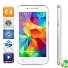 "H500W Android 4.4.2 Dual-core WCDMA Bar Phone w/ 4.3"" IPS, Wi-Fi and GPS - White"
