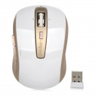 Rapoo 3920P 5G 1600dpi USB 2.0 Wireless Laser Gaming Mouse w/ Receiver - Golden + White (2 x AA)