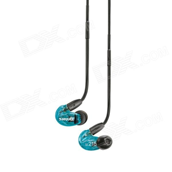 Shure SE215LTD Limited Edition Sound Isolier Ohrhörer mit erweiterten Bass Blue