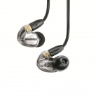 Shure SE425-V Dual High-Definition MicroDriver Earphone with Detachable Cable Metallic Silver