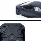 Lamborghini Reventon 1:18 2-CH High-speed Drift Steering Wheel R/C Car - Black