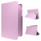 Mr.northjoe Protective PU Leather Case Stand Cover for Samsung Galaxy Tab 3 Lite T110 / T111 - Pink