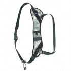 Professional Breathable Sponge + Neoprene Shoulder Strap Belt for SLR Camera - Camouflage