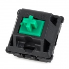 CHERRY 3-Feet Switch Green-Shaft for Mechanical Keyboard - Black + Green