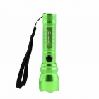 KINFIRE K10S 3W 180LM White E1215 LED 3-mode Mini Flashlight - Grass Green (1 x AA or 14500)
