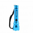 KINFIRE K10S 3W 180LM White E1215 LED 3-mode Mini Flashlight - Blue (1 x AA or 14500)