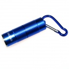 ALETO KL251L Cree XM-L T6 1-LED 900lm 3-Mode White Light Flashlight w/ Keychain - Blue (1 x 16340)