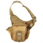 D5 2012 Outdoor Sports Nylon Shoulder / Saddle Bag - Tan