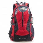 Guanhua Sports de plein air Nylon + Polyester Sac à dos - Rouge (40L)